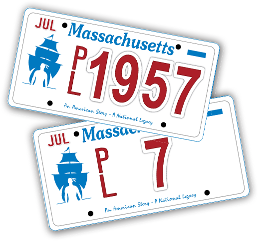 Plymouth 400 License Plate